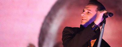 Depeche Mode bratislavskému publiku: You're great audience!!!