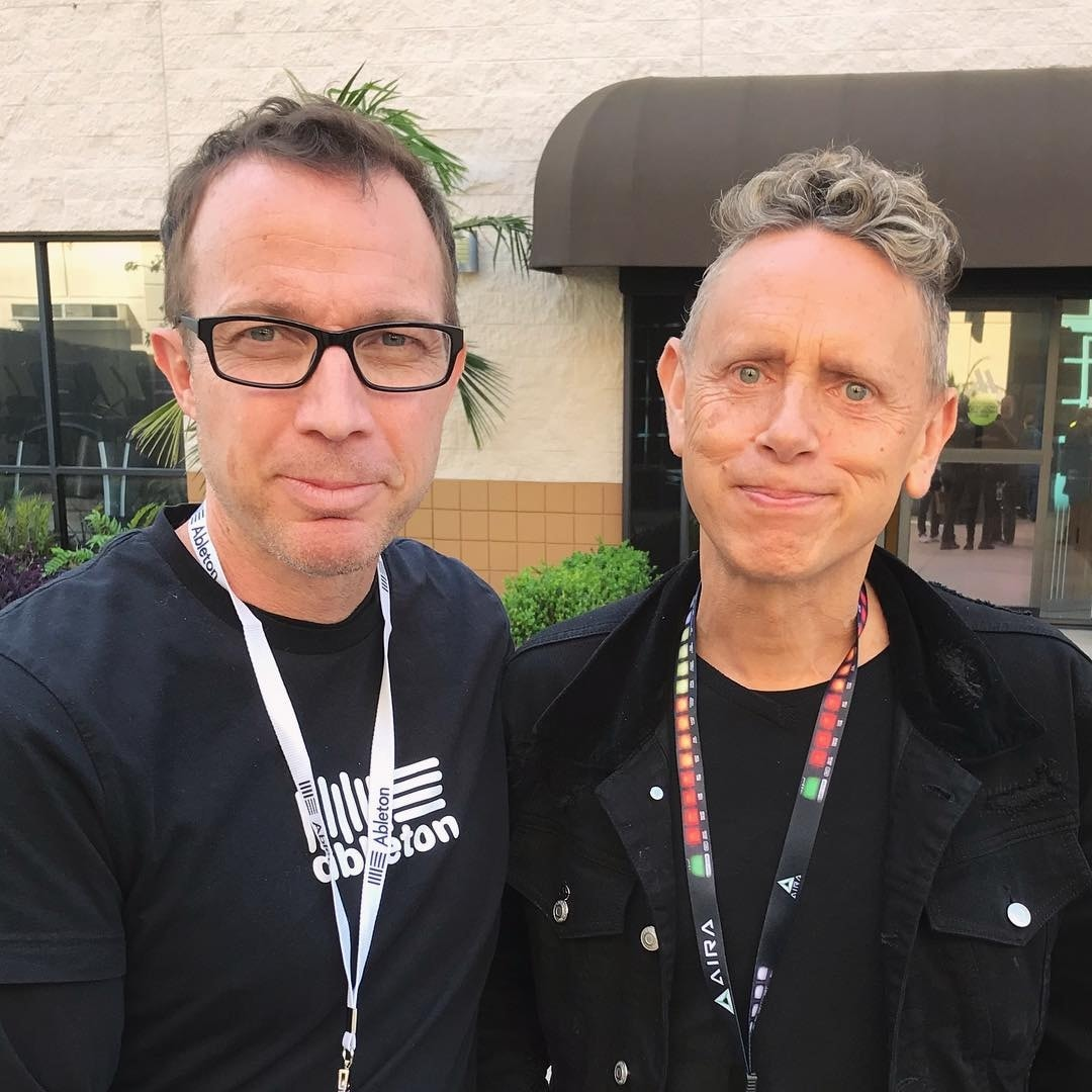 Martin Gore na Synthplex Convention 2019