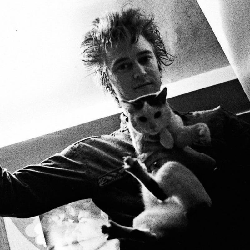 Nevydaná fotografia Alana Wildera z roku 1983