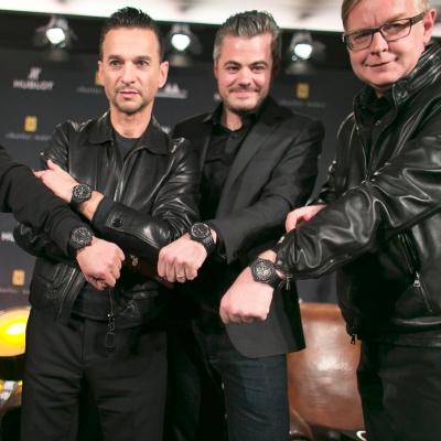 Depeche Mode opäť spájajú sily so značkou Hublot