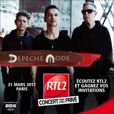 Depeche Mode v Paríži - aktualizované