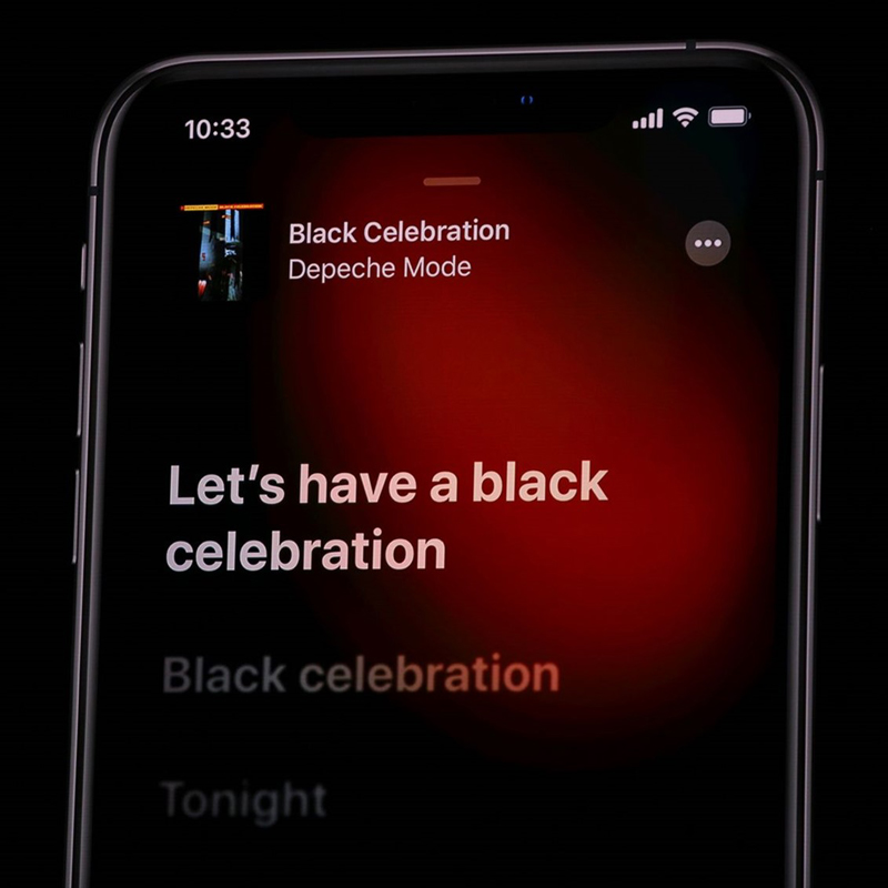 Apple Keynote WWDC 2019 v tónoch Black Celebration