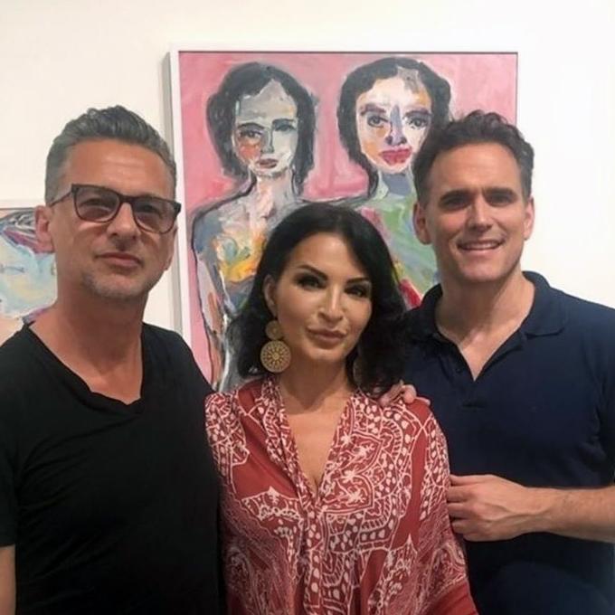 Dave & Jennifer na výstave Kathrine Narducci