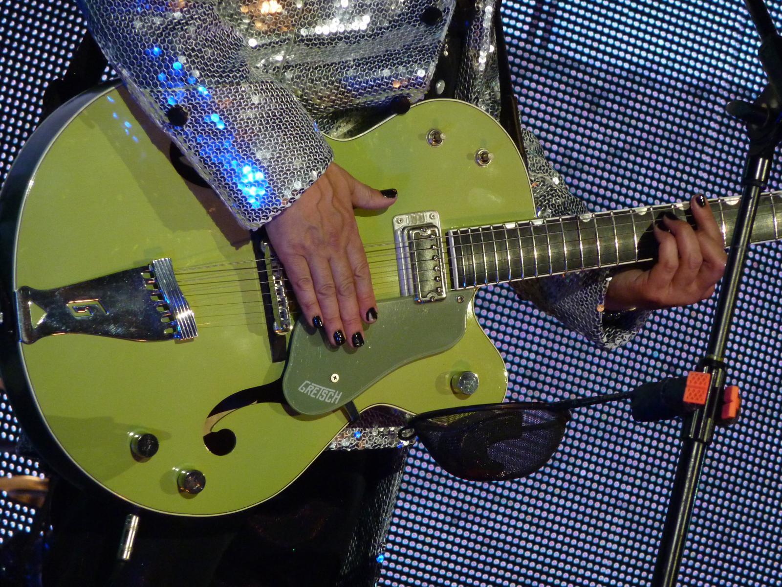 Nick Dias o goreho gitare Gretsch 6118