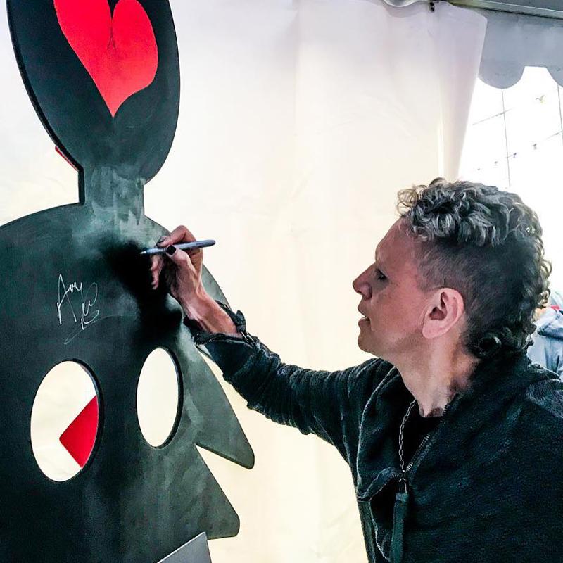 Depeche Mode majú v Soproni svoju sochu