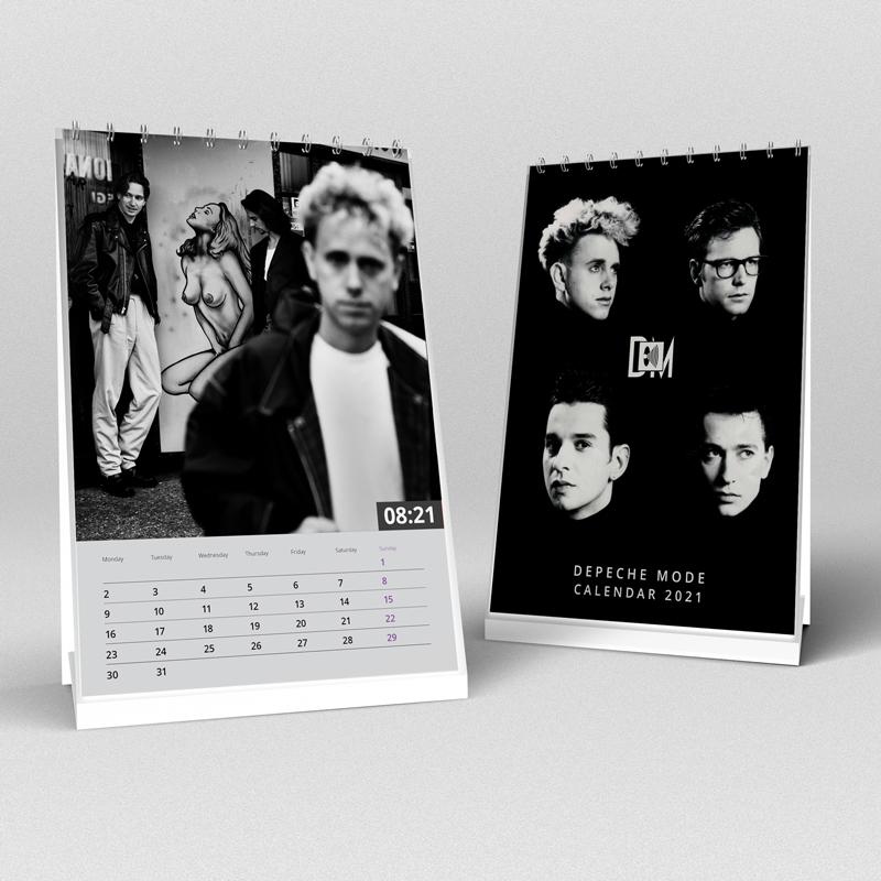 Kalendáre Depeche Mode 2021