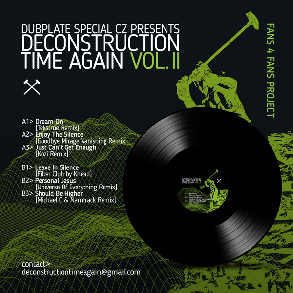 Český projekt Deconstruction Time Again pokračuje druhým vydaním