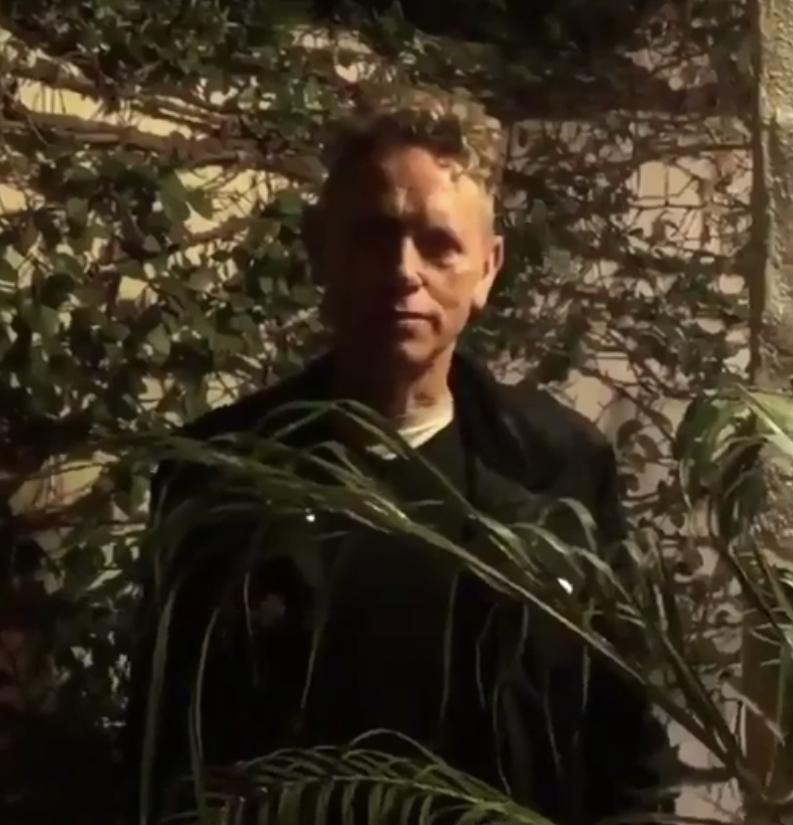 Martin Gore propaguje album kapely Sego