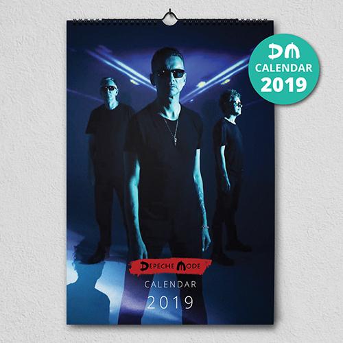 Kalendáre Depeche Mode 2019