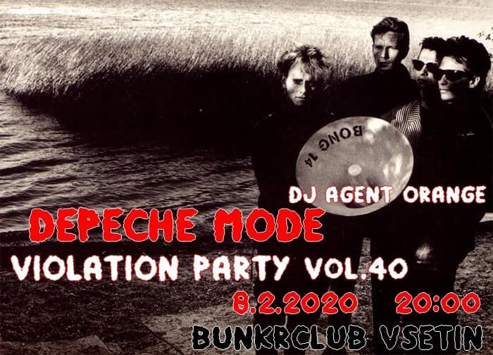 Vsetín: Depeche Mode Violation party vol.40