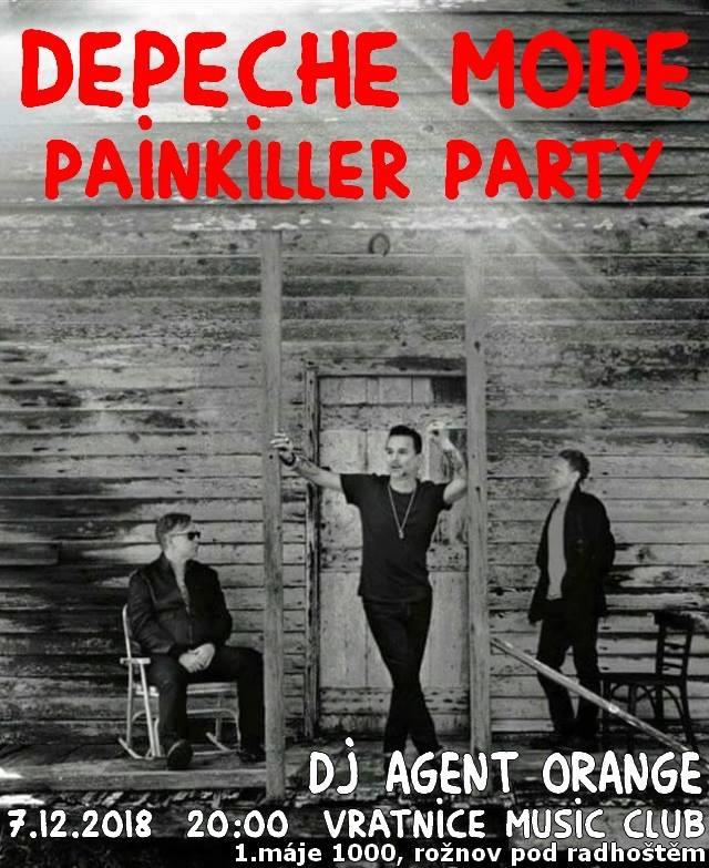 Rožnov pod Radhoštěm: Depeche Mode Painkiller Party