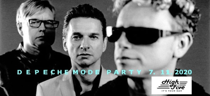 Brno: Depeche Mode Night party