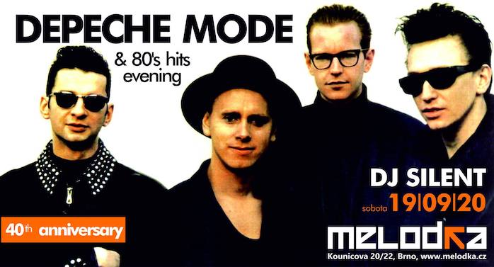 Brno: Depeche mode evening party