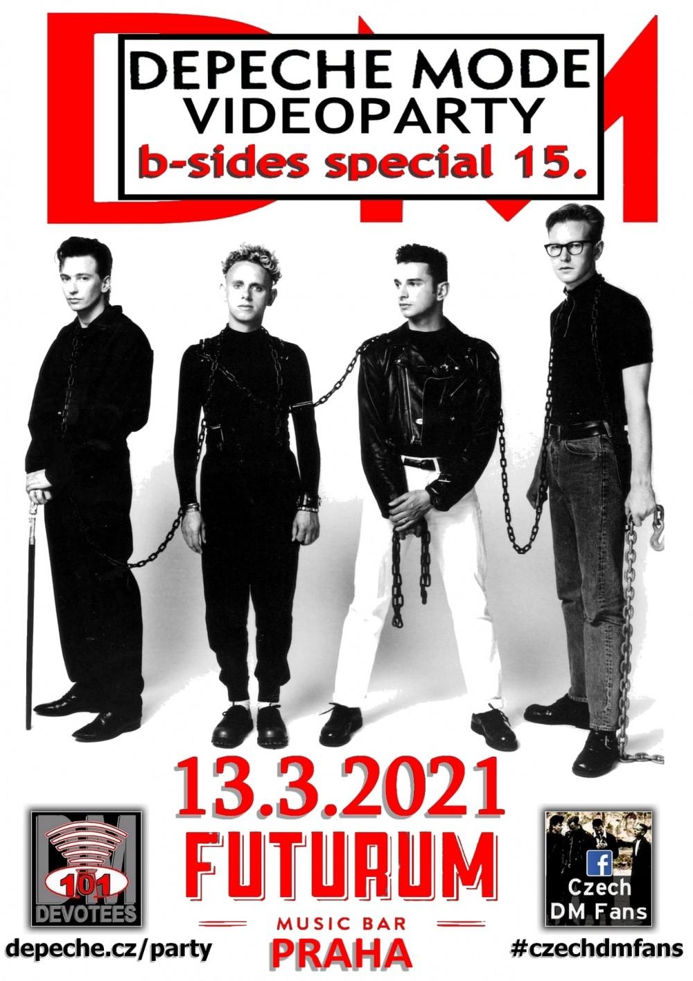 Praha: Depeche Mode B-Sides special 15.
