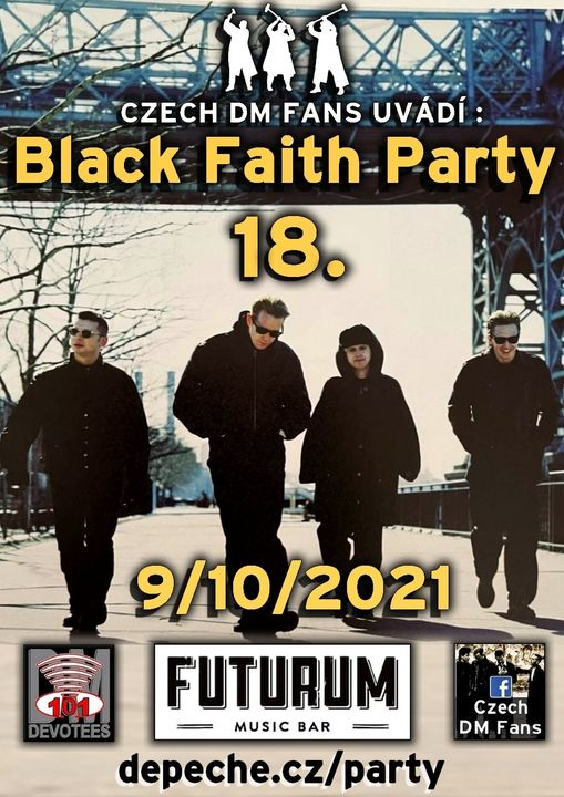 Plagát: Black Faith Party 18.