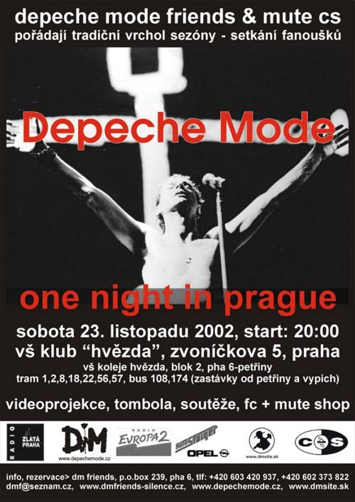 Plagát: Depeche Mode One Night in Prague
