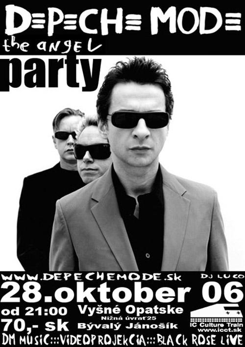Plagát: Depeche Mode Angel Party