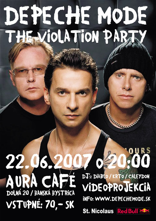Plagát: The Violation Party