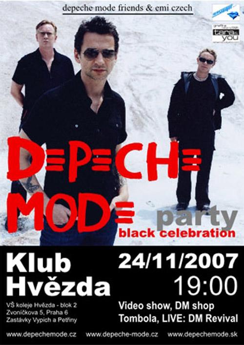 Plagát: Depeche Mode Friends Party