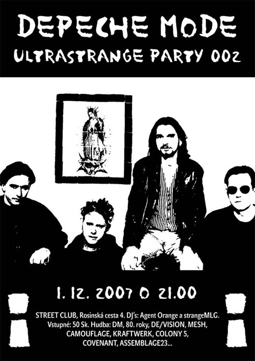Plagát: DM ULTRAstrange party vol. 002