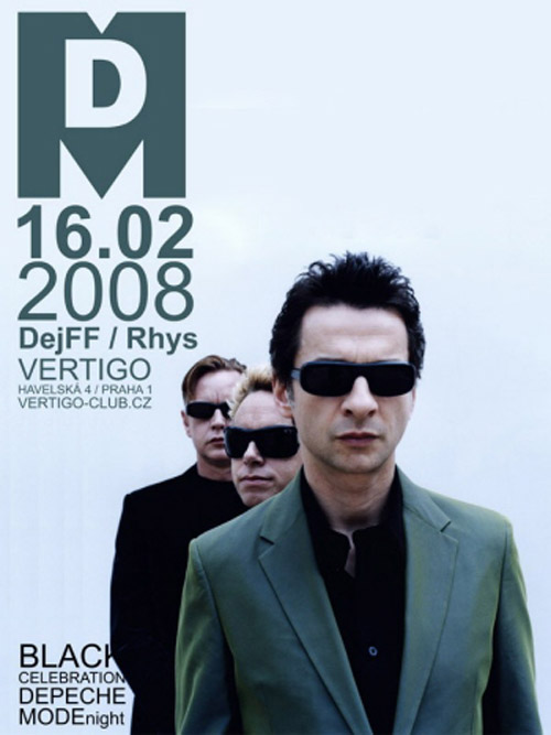 Plagát: Black Celebration Depeche Mode Night
