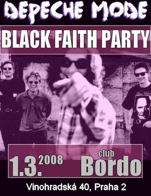 Plagát: Black Faith Party II.