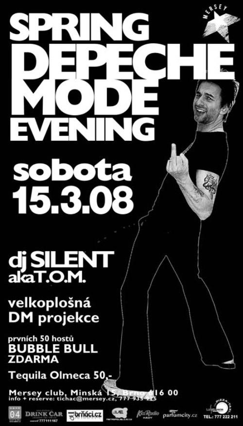 Plagát: Spring Depeche Mode Evening