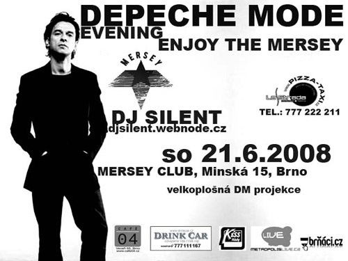 Plagát: Depeche Mode Evening (Enjoy the Mersey)