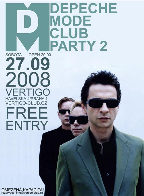 Plagát: Depeche Mode Club Party 2