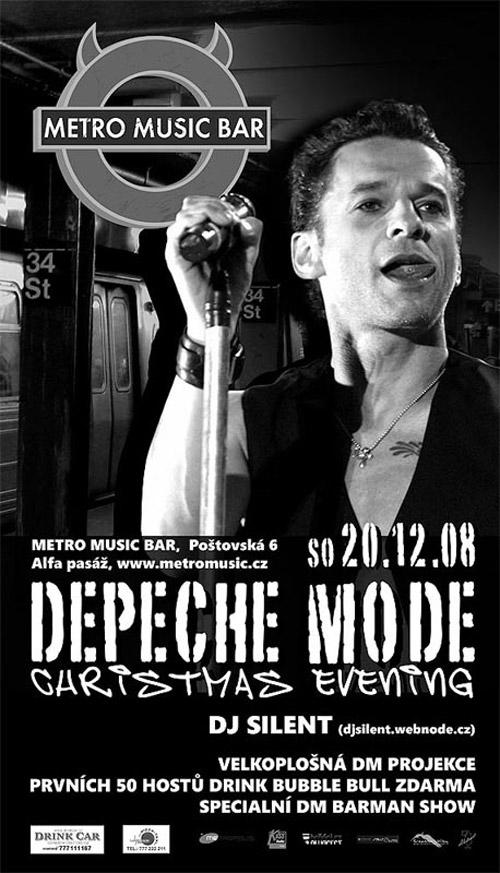 Plagát: Depeche Mode Christmas Evening