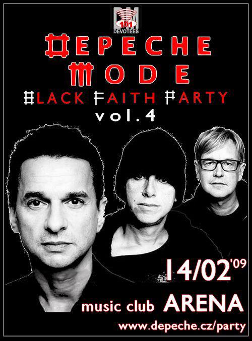 Plagát: Black Faith Party IV.