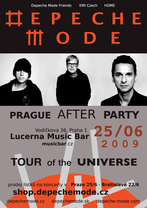 Plagát: Depeche Mode After Party
