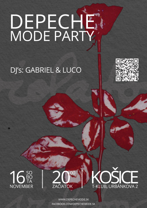 Plagát: Depeche Mode Party