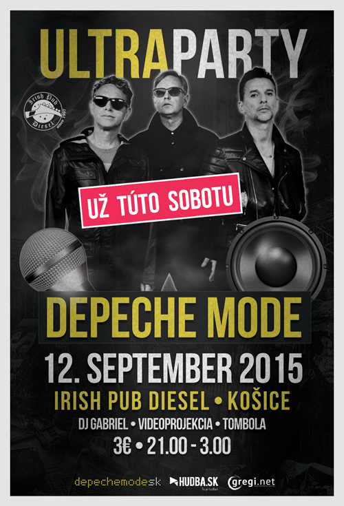 Plagát: Depeche Mode Ultra Party