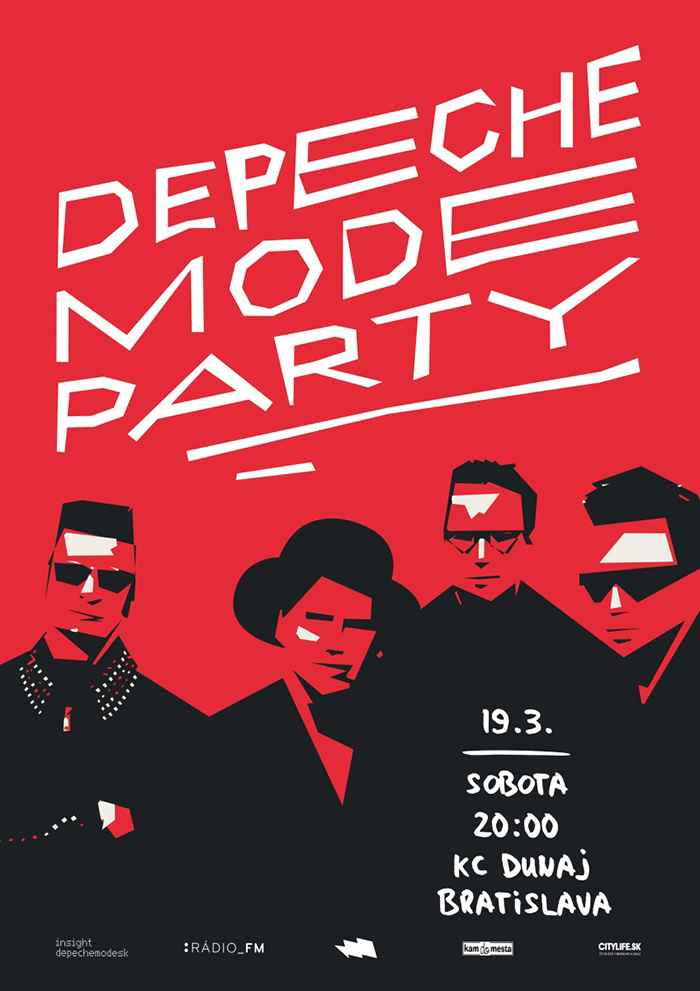 Plagát: Depeche Mode Party & Dominatrix DJ Set