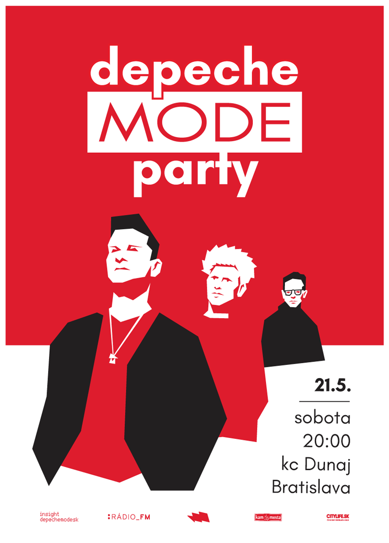 Plagát: Depeche Mode Party & Babylonia (ITA) live