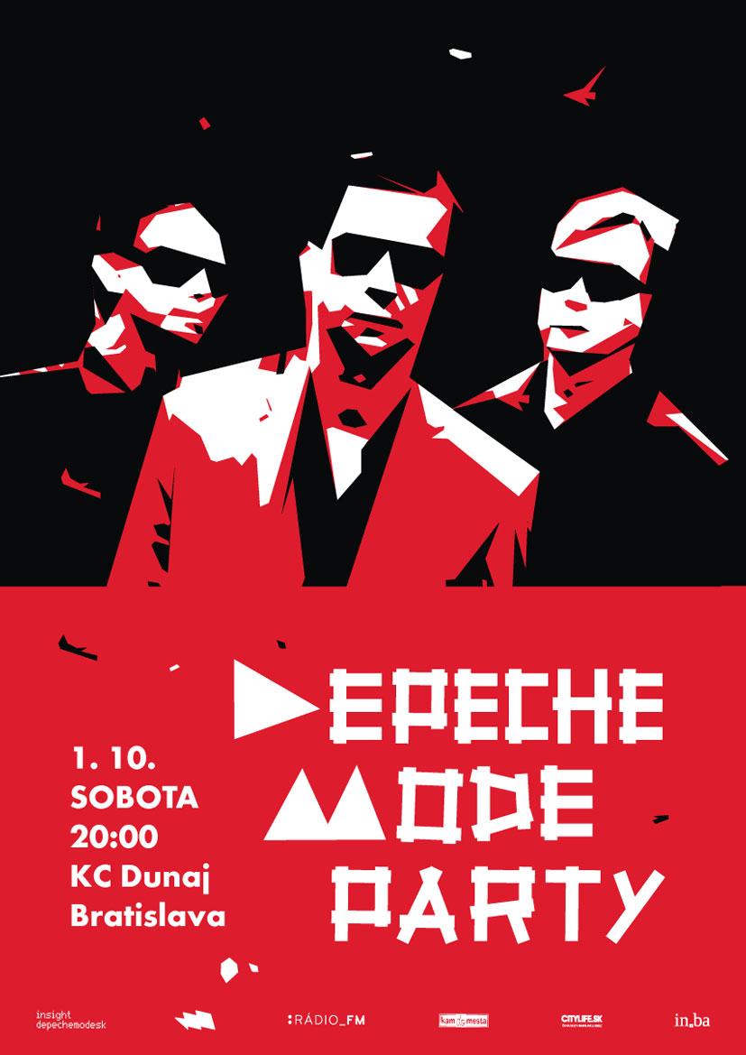 Plagát: Depeche Mode Party + Personální Anděli (live)