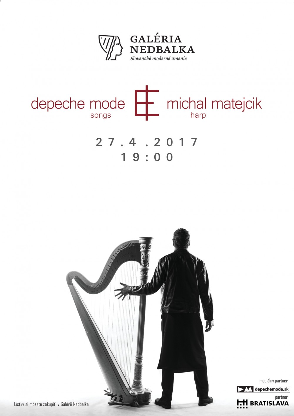 Plagát: Depeche Mode Songs - Michal Matejcik Harp