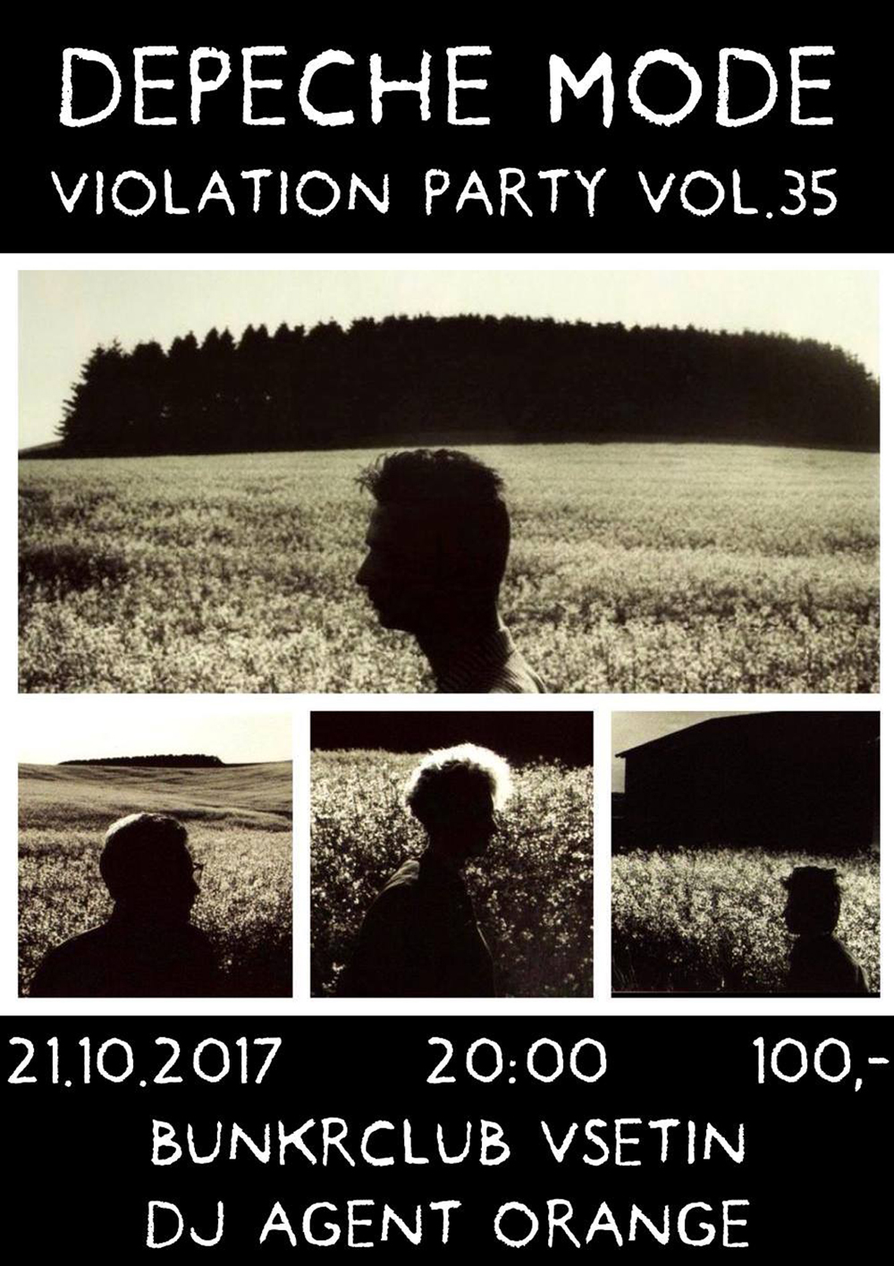 Plagát: Depeche Mode Violation party vol.35
