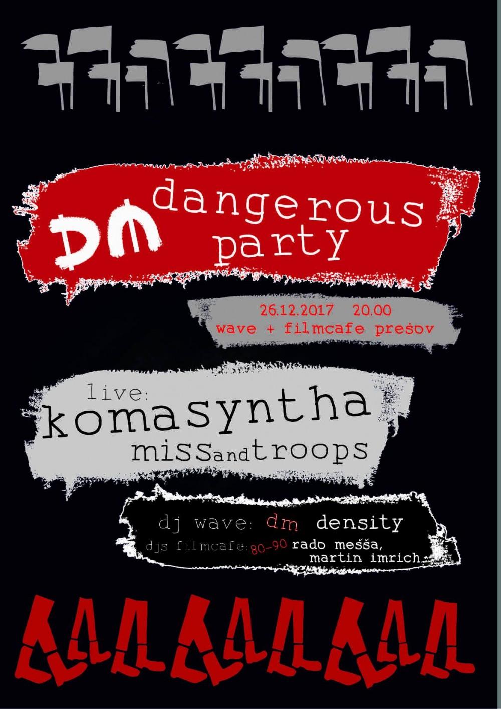 Prešov: Depeche Mode Dangerous Party 2017