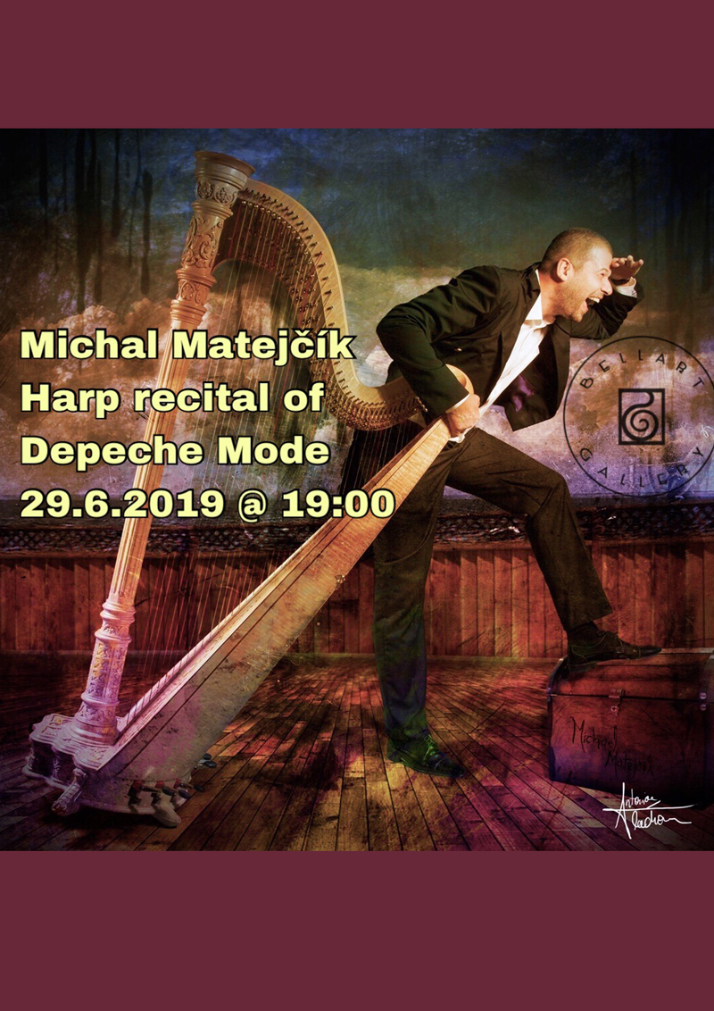 Viedeň: Michal Matejčík - Harp recital of Depeche Mode