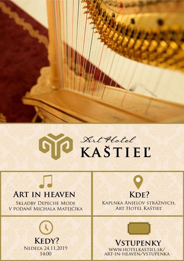 Plagát: Koncert Art in Heaven