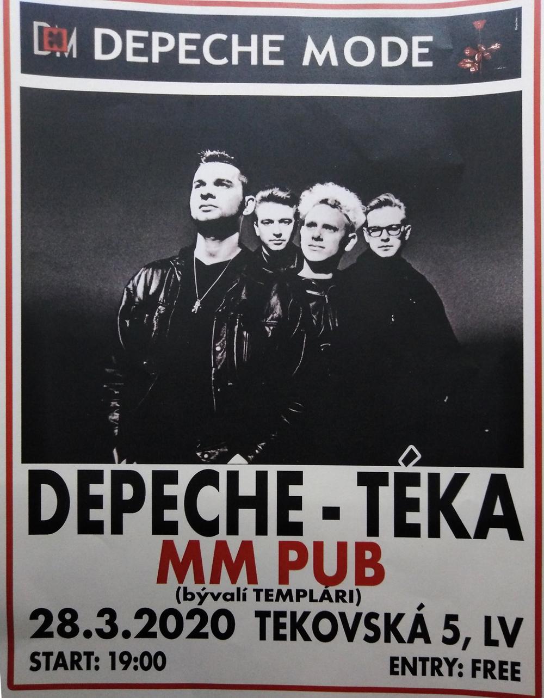 Plagát: Depeche - téka