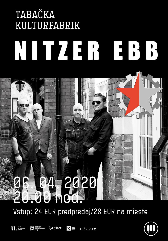 Košice: Nitzer Ebb (UK)