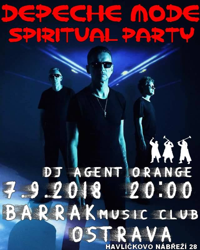 Ostrava: Depeche Mode Spiritual party