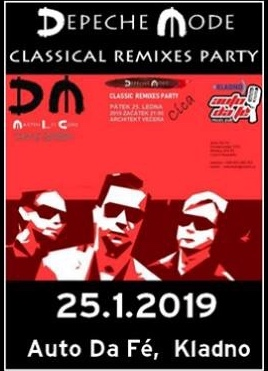 Plagát: Depeche Mode Classical Remixes Party