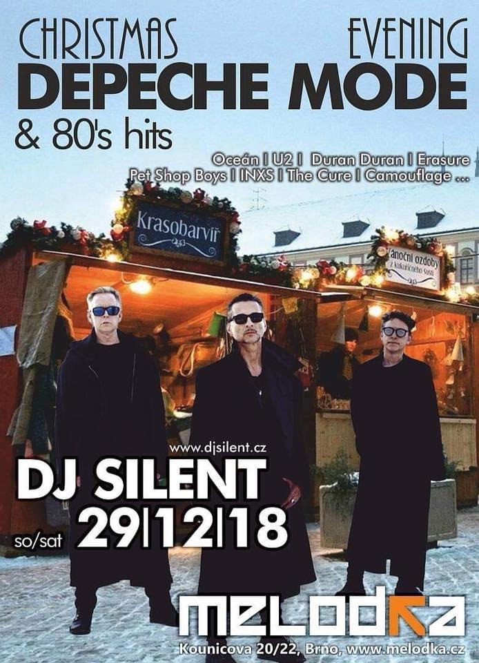 Plagát: Christmas Depeche Mode evening