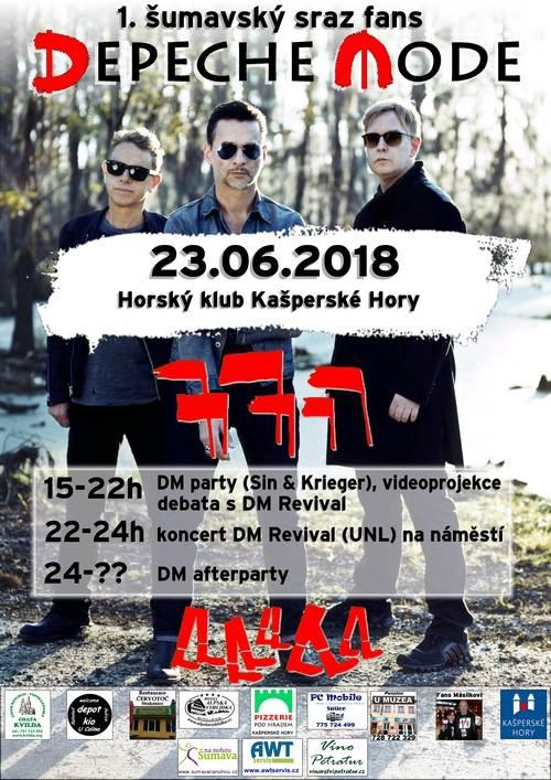 Kašperské Hory: Depeche Mode sraz fans
