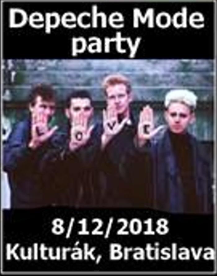 Bratislava: Depeche Mode párty