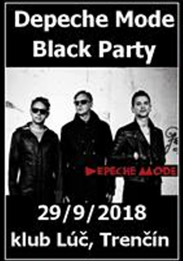 Trenčín: Depeche Mode Black Párty